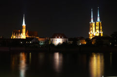Breslau, Polen - Europäische Kulturhauptstadt 2016 Stockbild