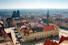 Breslau-Rathaus stockfoto