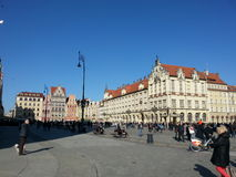 Breslaw Polen fotografering för bildbyråer