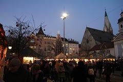 Bressanone市场 图库摄影