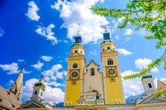 Bressanone Brixen - south tyrol - Bozen Bolzano province - I. Taly royalty free stock photos