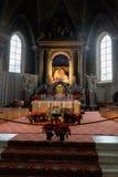 Bressanone, la chiesa di St Michael l'arcangelo Fotografie Stock Libere da Diritti