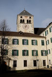 Bressanone, the tower of the abbey of Neustift Stock Photos