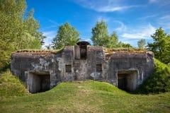 Brest, Λευκορωσία - 12 Μαΐου 2015: Το πέμπτο οχυρό του φρουρίου του Brest Στοκ Εικόνα