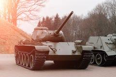 Free BREST, BELARUS - APRIL 5, 2018: Medium Tank T-34 In The Museum Royalty Free Stock Photo - 158356665