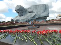 Brest Belarus 06 12 2018 Forteresse commémorative de héros de Brest photo libre de droits