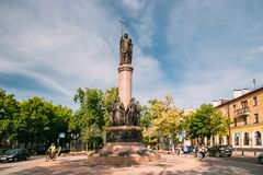 Brest, Belarus. View Of Millennium Monument Of Brest At Intersection Of Sovietskaya And Gogol Street In Sunny Summer Day Royalty Free Stock Photo