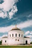 Brest, Bielorrusia Garrison Cathedral St Nicholas Church en fortaleza compleja conmemorativa del héroe de Brest Fotografía de archivo libre de regalías