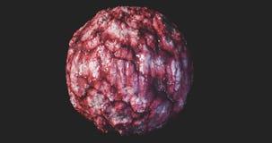 Brest för cancer för kolon för lymfkörtelcancer för carcinoma för cysta för tumör för cancer för begrepp för Oncology för cancerc vektor illustrationer