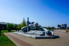 Brest-Festungs-Held-komplexer Monument-Soldat stockbilder