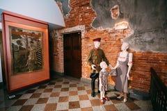 Brest-Festungs-Museum in Brest, Weißrussland lizenzfreie stockfotos