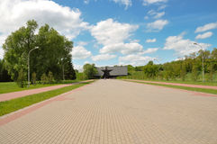 Brest fortress. Entrance to the Brest fortress Royalty Free Stock Photography