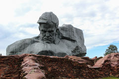 Brest Fortress. The main monument. Stock Image