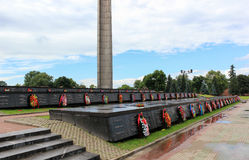 Brest Fortress. Mass grave. Stock Photo
