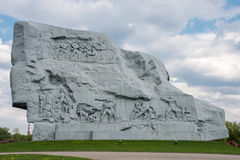 Brest Fortress memorial royalty free stock images