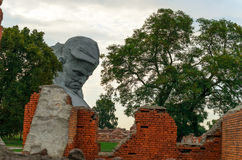 Brest Fortress. The memory of the Second World War Royalty Free Stock Photo