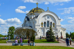 Brest garrison cathedral of St Nicholas. Stock Photos