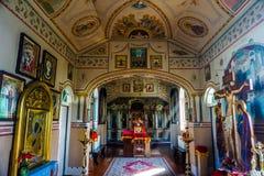 Brest helgon Athanasius Monk Monastery Interior royaltyfri bild