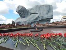 Brest Wei?russland 06 12 2018 Erinnerungs-Brest-Held-Festung lizenzfreies stockfoto