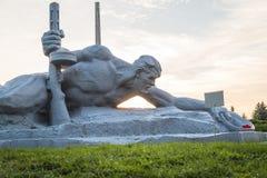 BREST, WIT-RUSLAND - September 13, 2018: De herdenkings complexe vesting-Held van Brest stock afbeeldingen
