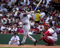 Bret Boone, Seattle Mariners. Seattle Mariners 2B Bret Boone. (Image taken from color slide Stock Image