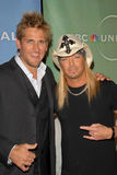 Bret Michaels,Curtis Stone Royalty Free Stock Photography