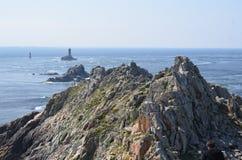 Bretaña costal (Francia en julio de 2014 Imagenes de archivo