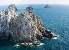 Bretagne, das Pointe De Pen Hir Lizenzfreies Stockbild