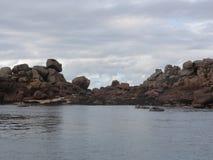Bretagne - de Golf van Morbihan - Frankrijk royalty-vrije stock foto
