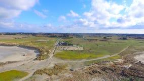 Bretagne. Drone image bretagne stock images