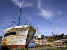 Bretagne; Finistere: Hafen von Camaret lizenzfreie stockfotos