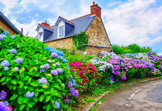 Bretagne, Frankreich lizenzfreies stockfoto
