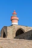 Bretagne: Heilig-Mathieu-Leuchtturm Lizenzfreie Stockfotos