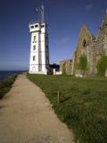 Bretagne: Heiliges Mathieu-Leuchtturm lizenzfreies stockbild