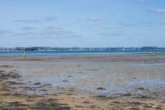 Bretagne, Ile Zusatz-Moines lizenzfreie stockfotografie