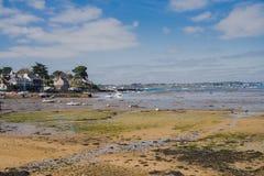 Bretagne, Ile Zusatz-Moines lizenzfreies stockbild