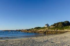 Bretagne-Küste Stockfoto