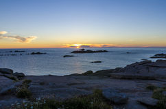 Bretagne-Küste Lizenzfreies Stockfoto