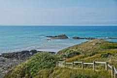 Bretagne-Küste Stockbild