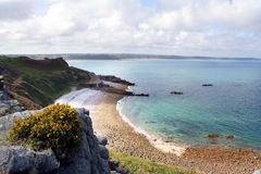Bretagne - kust Royalty-vrije Stock Foto's