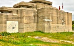 Bretagne, Le Grand Blockhaus in Batz sur Mer Royalty Free Stock Image