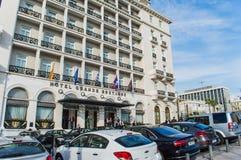 Bretange grande dell'hotel Fotografia Stock