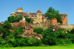 Bretenoux Castelnau, France Photo stock