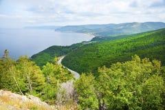 Breton ö för udde i Nova Scotia Royaltyfria Bilder