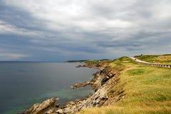 breton гористые местности плащи-накидк стоковые фото
