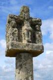 breton перекрестный камень стоковое изображение