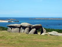Breton archeological site. royalty free stock photos