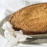Breton cake. Food, gastronomy, cuisine,cookery stock photography