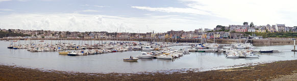 Breton harbor Stock Photos