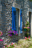 Breton house Stock Photo